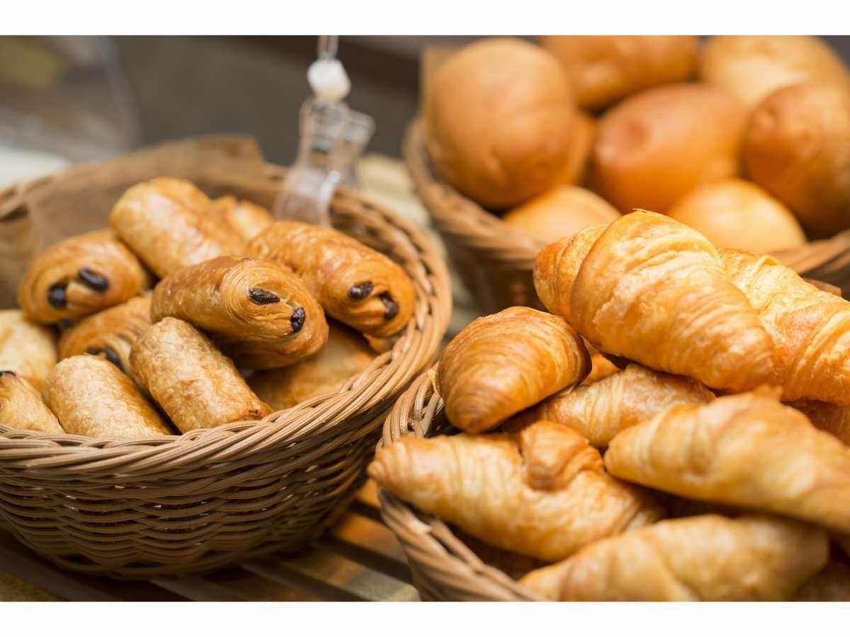 【北海道朝食バイキング】種類が豊富なパンはパン派に◎。