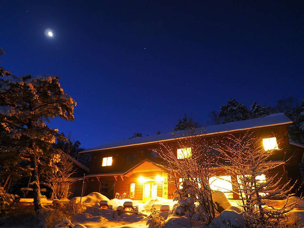 夜の白駒荘