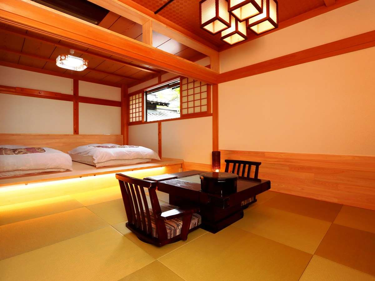 【客室】和洋室「安曇野」2021年リニューアルし新しく登場した客室です。
