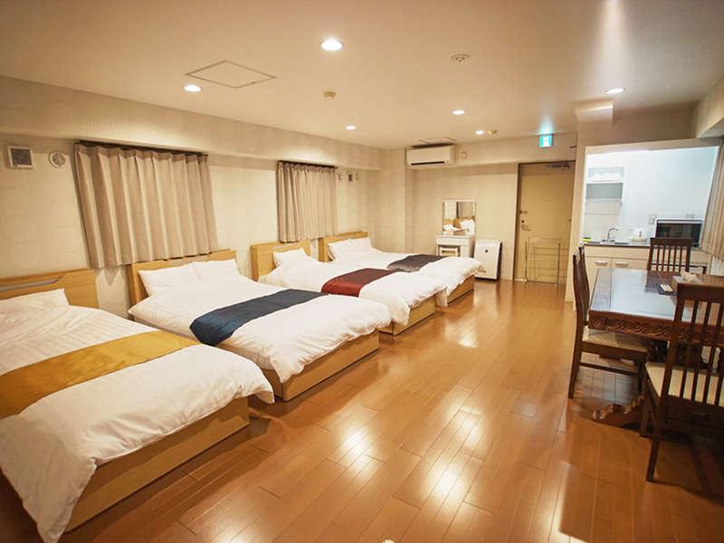 京都では珍しい広いファミリールーム
