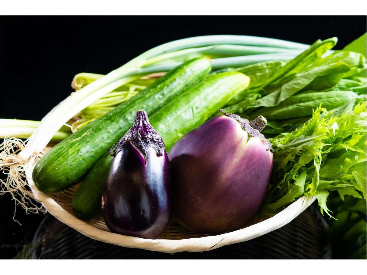 京野菜の数々(イメージ)