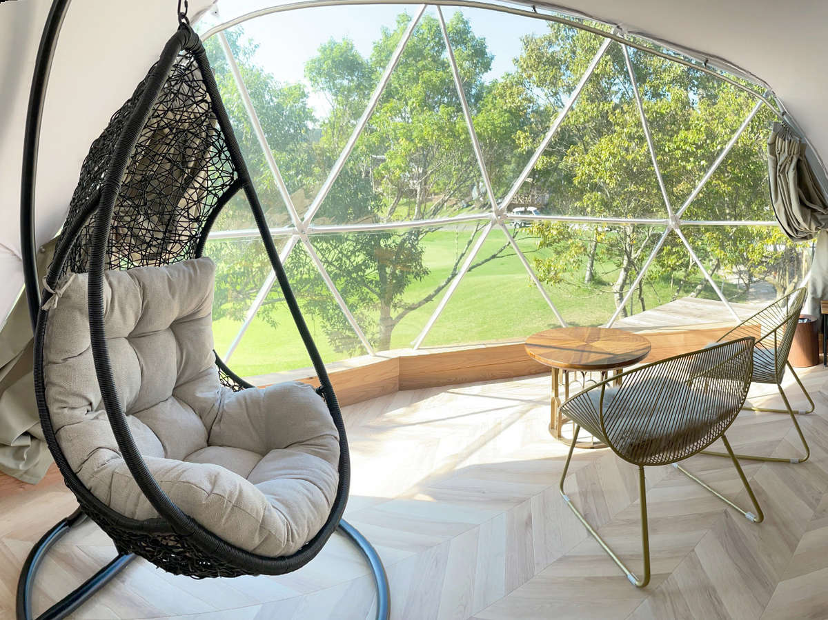 DOME TENT (Glamping)トイレ・洗面付