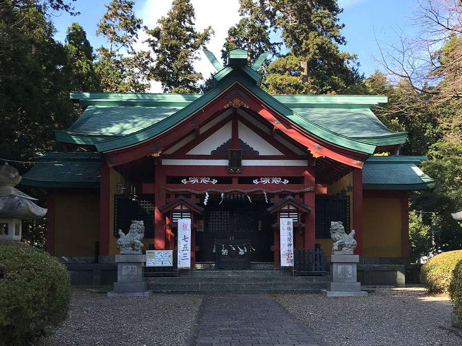 新橋浅間神社