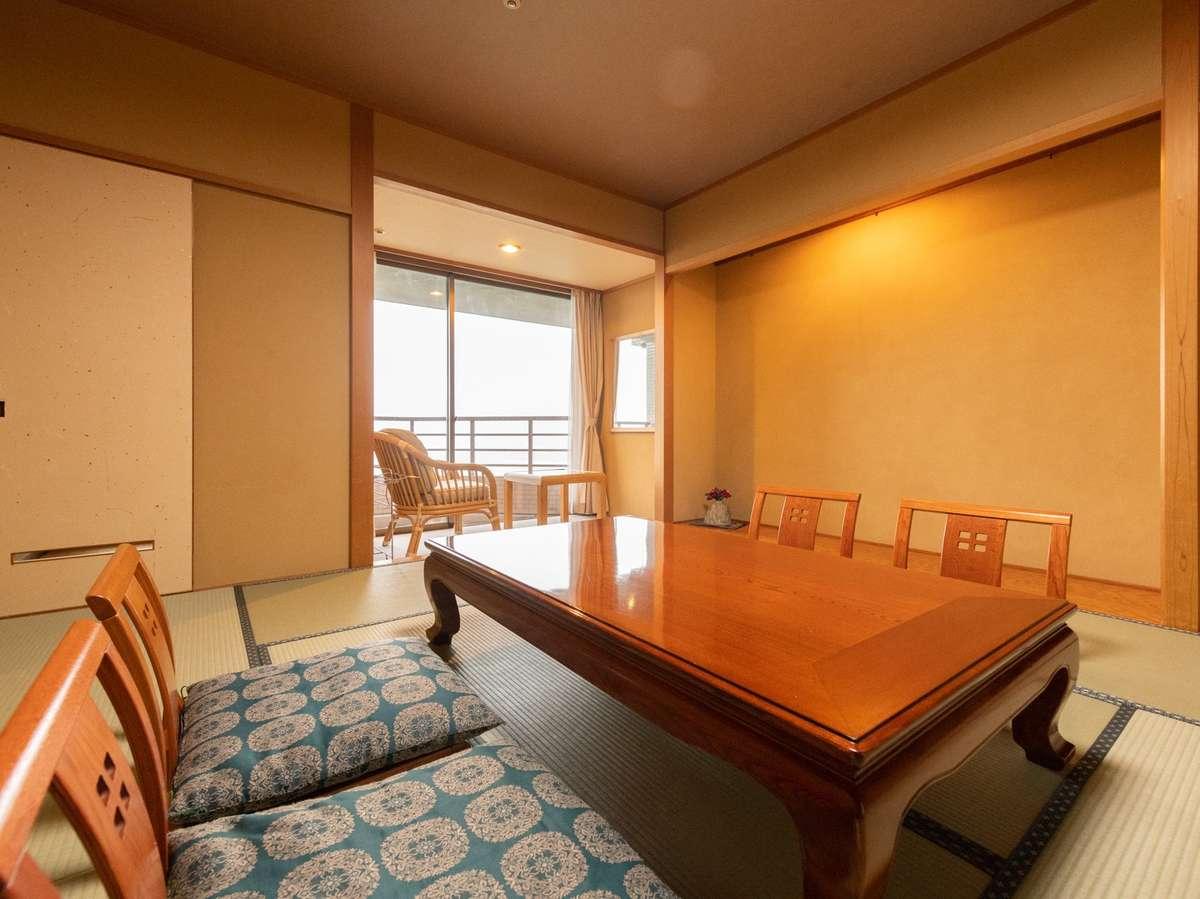 最上階和室【バス付客室】(姫川側)