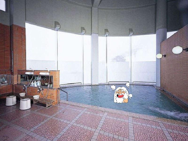 *【大浴場】ツルツル肌になるため「美肌の湯」とも言われています。