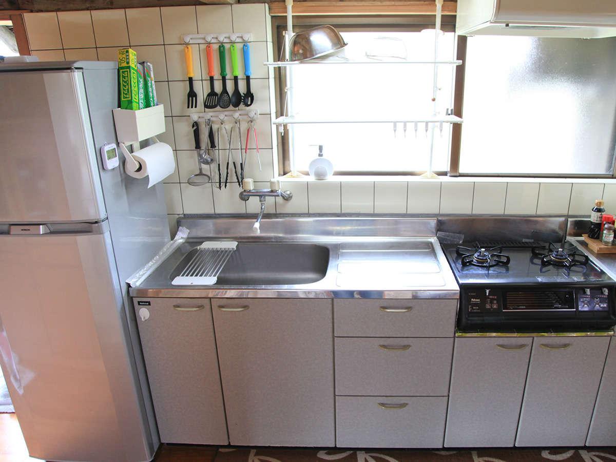 キッチン・トイレ・シャワールームはリフォーム済みで清潔です