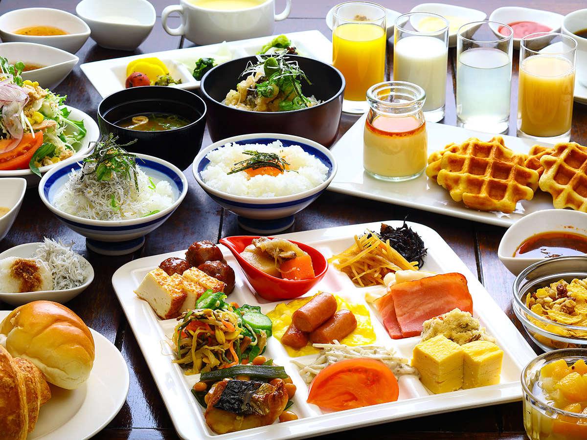 土佐の恵みをたっぷりの朝食バイキング