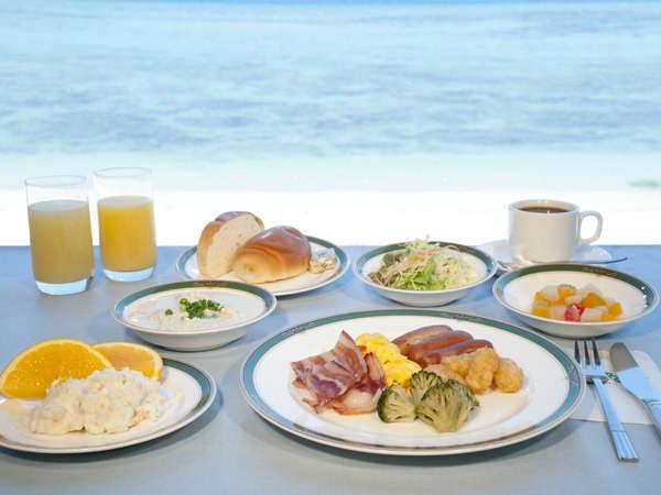 朝食バイキング(洋食料理盛付けイメージ)