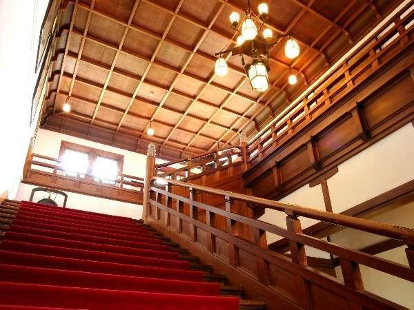 本館 正面大階段