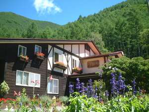 花の(8月)カントリーハウス渓山荘