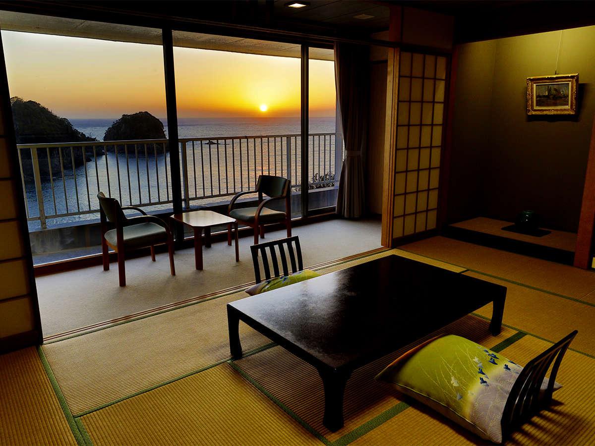 【~三四郎島&駿河湾View~】和室12畳 一例1