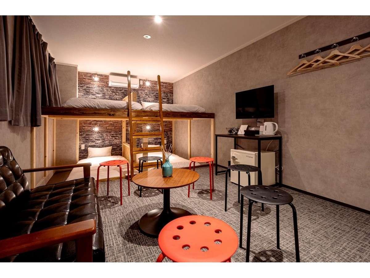 リノベ済みの大人数部屋はパーティーに最適!