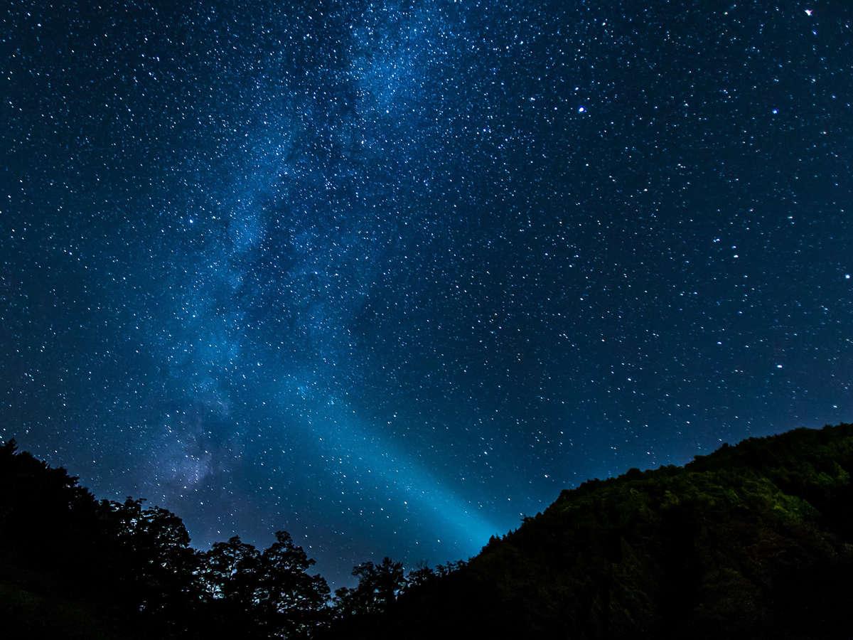 満天の星空は空気の澄んだ冬がオススメ!