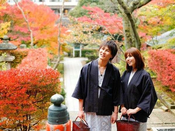 【山代温泉】秋になると美しい紅葉を楽しめる薬王院温泉寺