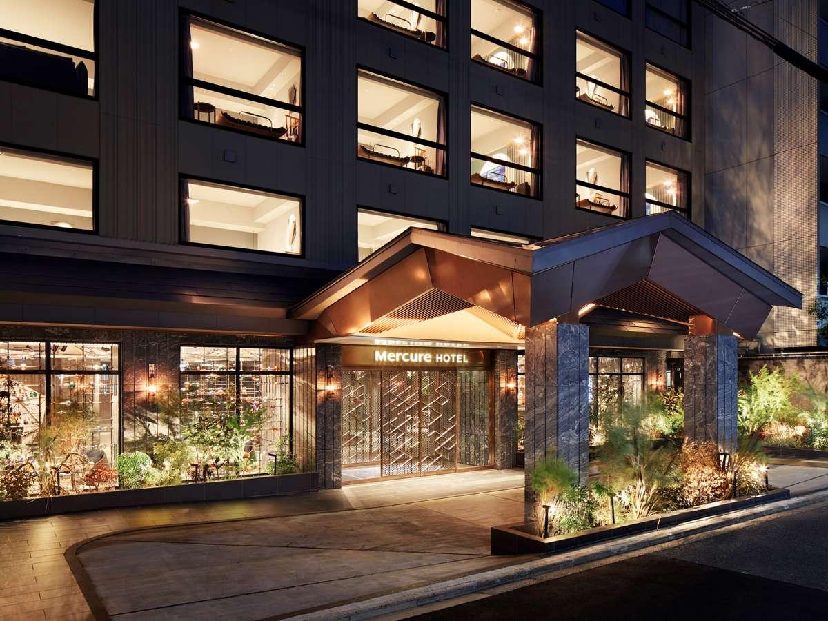 ホテル外観(油小路通)