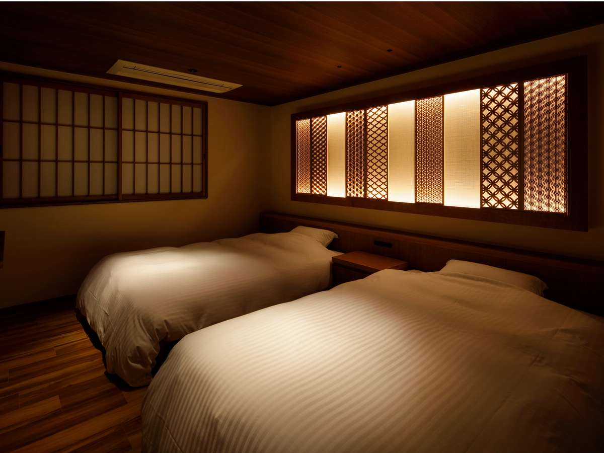 和洋特別室『花笑む』寝室
