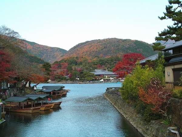 ☆紅葉真っ盛りの嵐峡!!