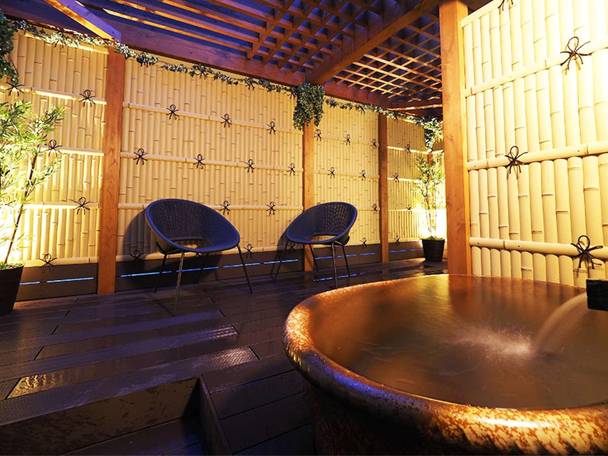 スイートルーム 露天風呂