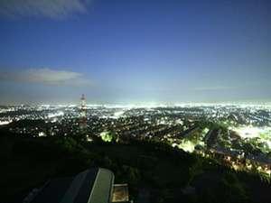 仙台市街地側客室からの眺望