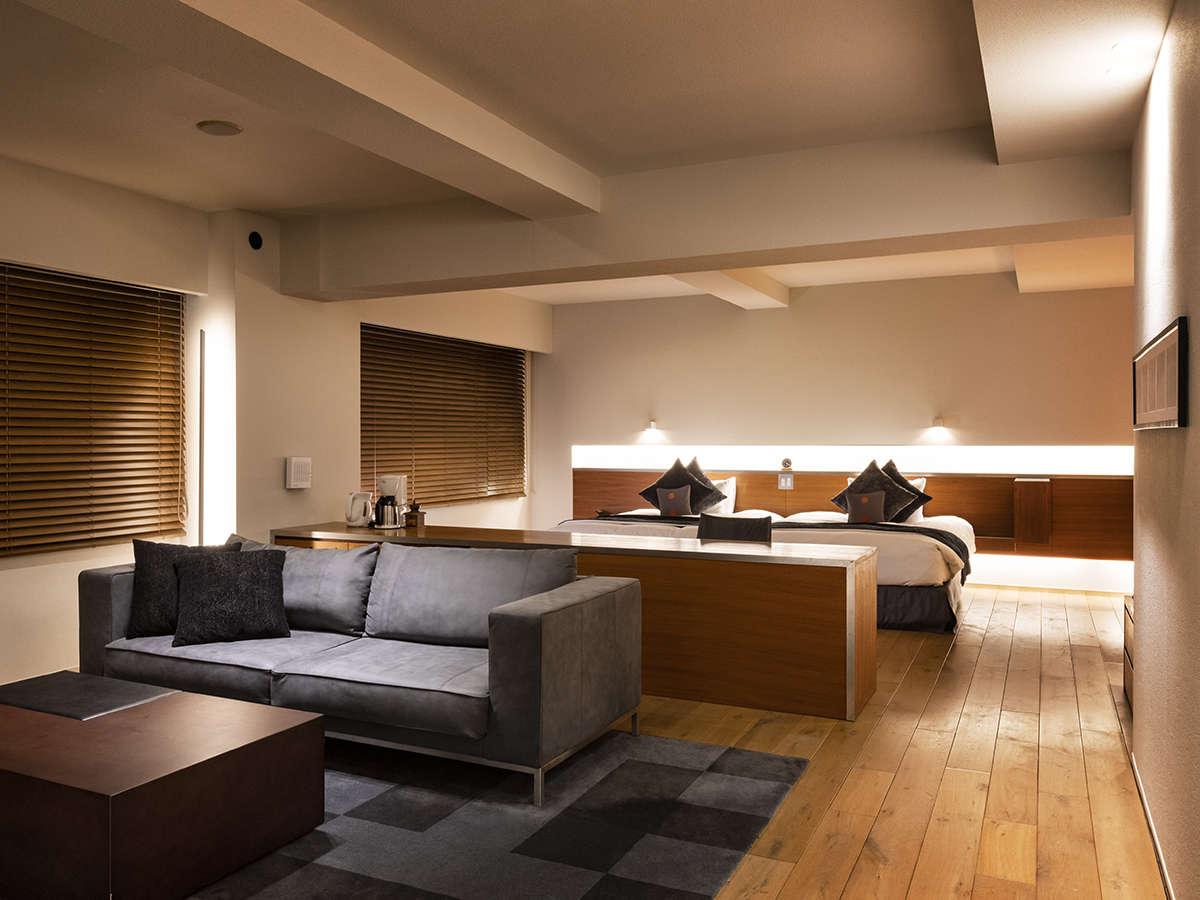 【スイート】70平米のお部屋でおふたりの大切な時間をお過ごしください。
