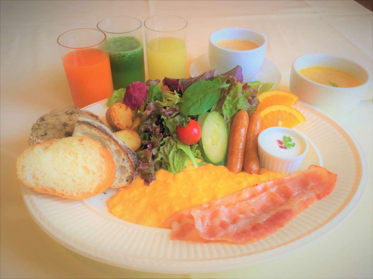 レストラン朝食「アメリカンブレックファースト」