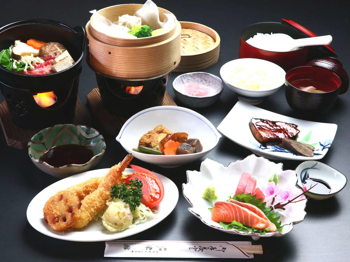 ご夕食(グレードアプ)◆季節によって異なる、さまざまな料理でおもてなし致します。