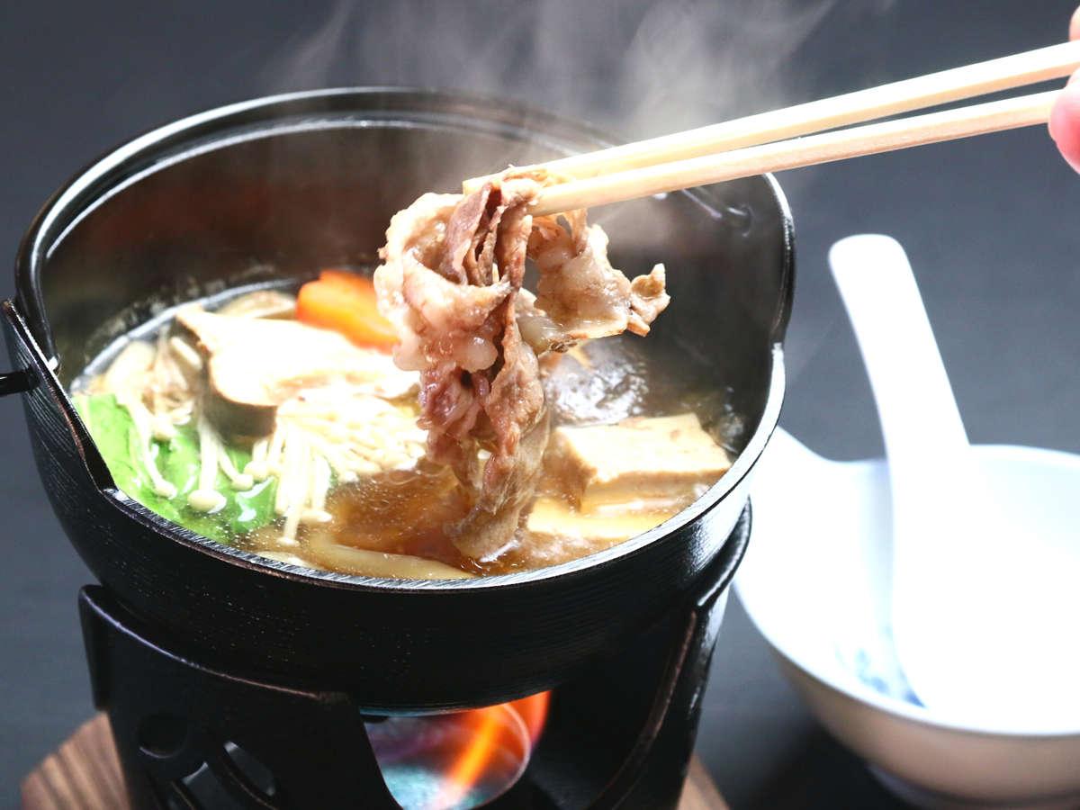 ご夕食(グレードアップ)◆一例 鍋物