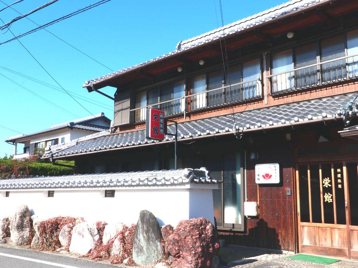 施設◆外観 日本建築の佇まいと趣きを残しております