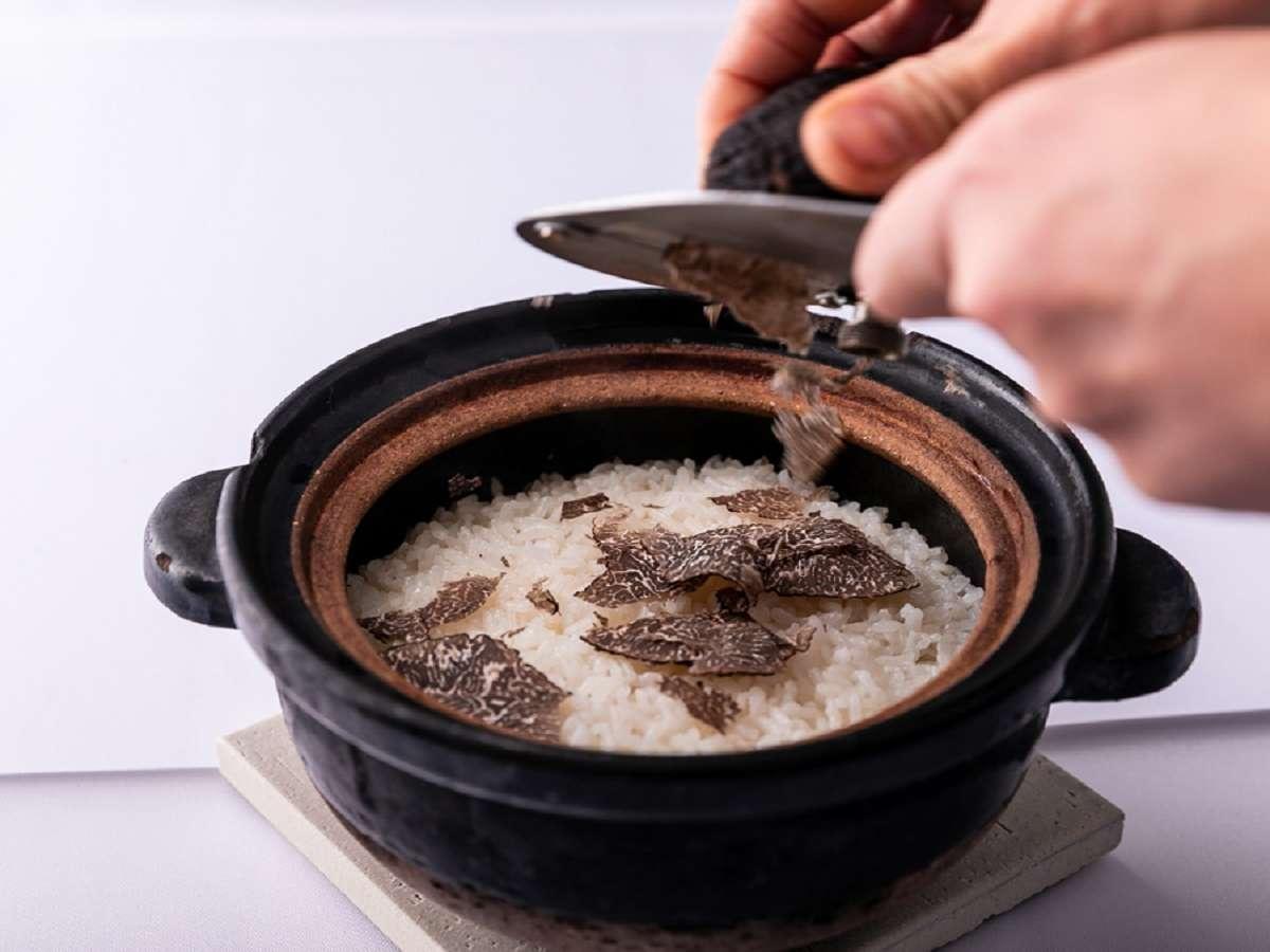 イタリア産トリュフ御飯 料理一例