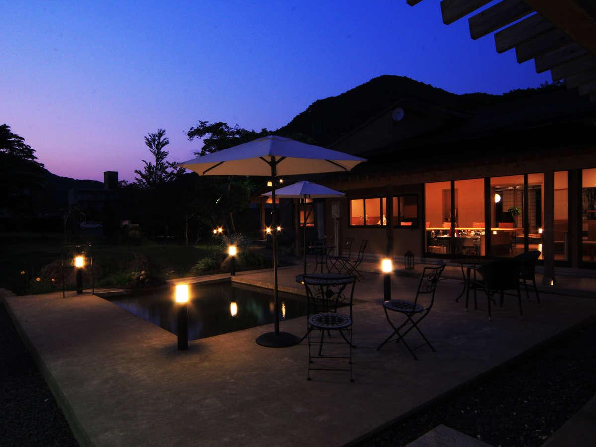 ガーデン◇夜の情景