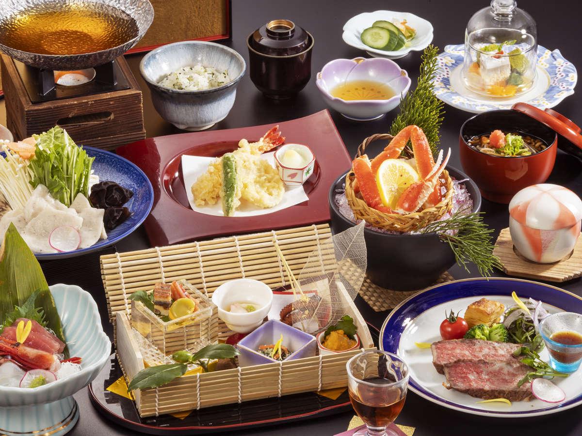 《風-kaze- 春の一例》1番人気!和牛ステーキ付きでちょっと贅沢