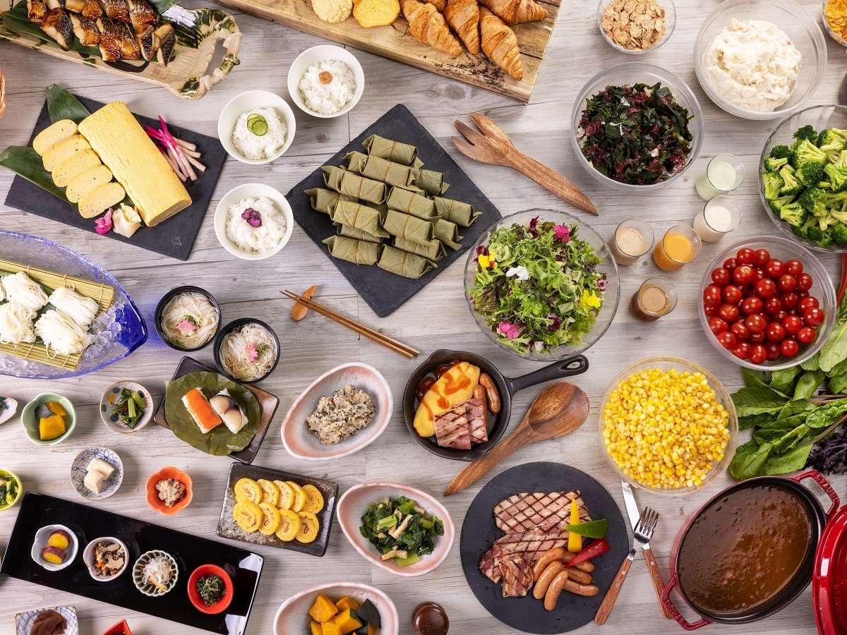 レストラン万葉 朝食ブッフェイメージ