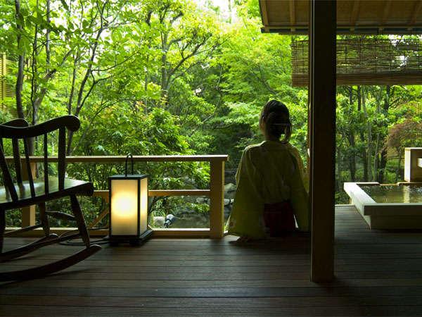 【部屋】別邸「個止吹気亭」ガーデンスイート(和室)177号室<イメージ>