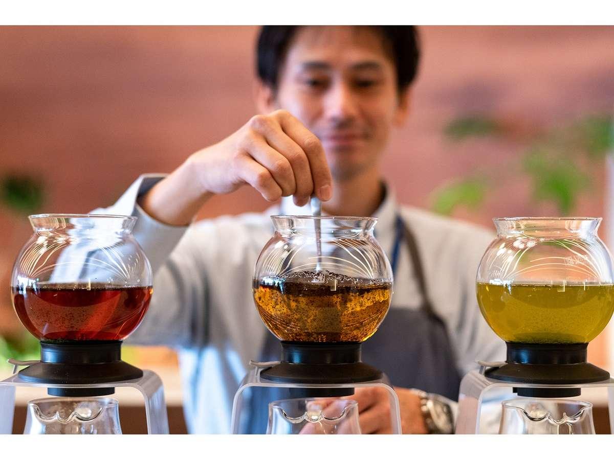 日本茶スタンド(イメージ)