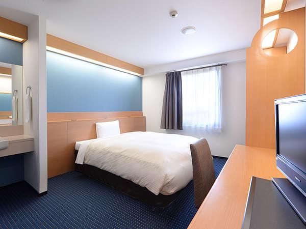 1ベッドルーム 21平米★150㎝幅のベッドでゆったり★