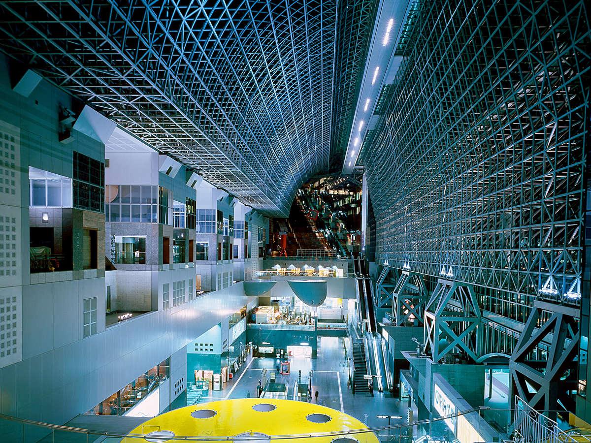 京都駅ビル直結ベストアクセス!