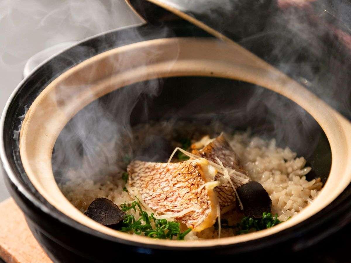 【湯相七席/七席の膳のお料理一例】出来立ての美味しさを大切に。