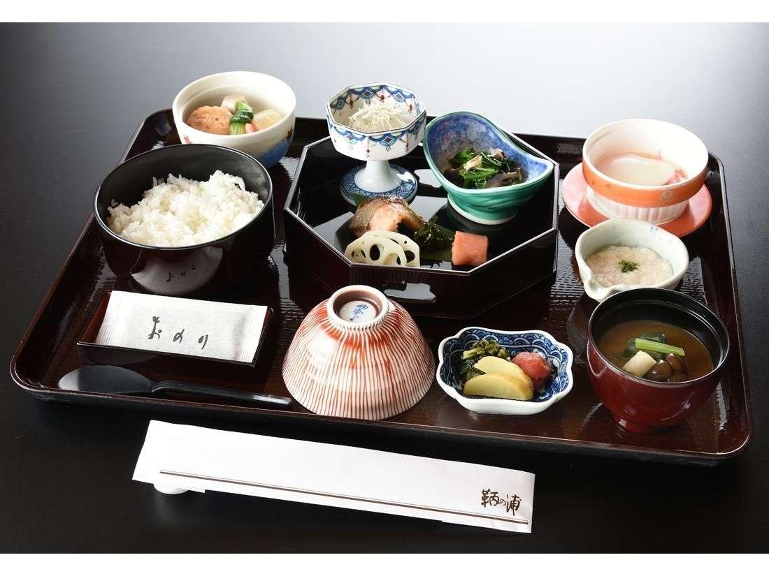 和朝食「鞆野」(朝食イメージ)