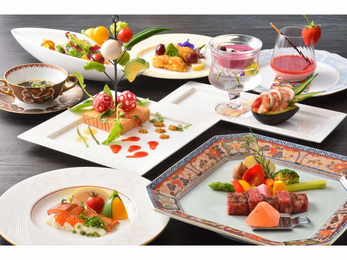 「お箸で食べる」がコンセプト肩ひじ張らず料理長渾身のフルコースディナーを堪能してください
