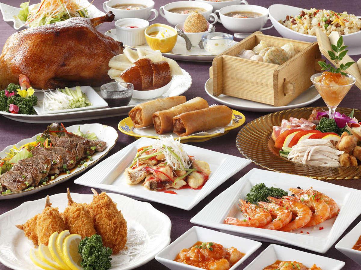 【中国料理 唐紅花】オーダー制バイキング テーブルで注文する食べ放題!(※写真はイメージです)