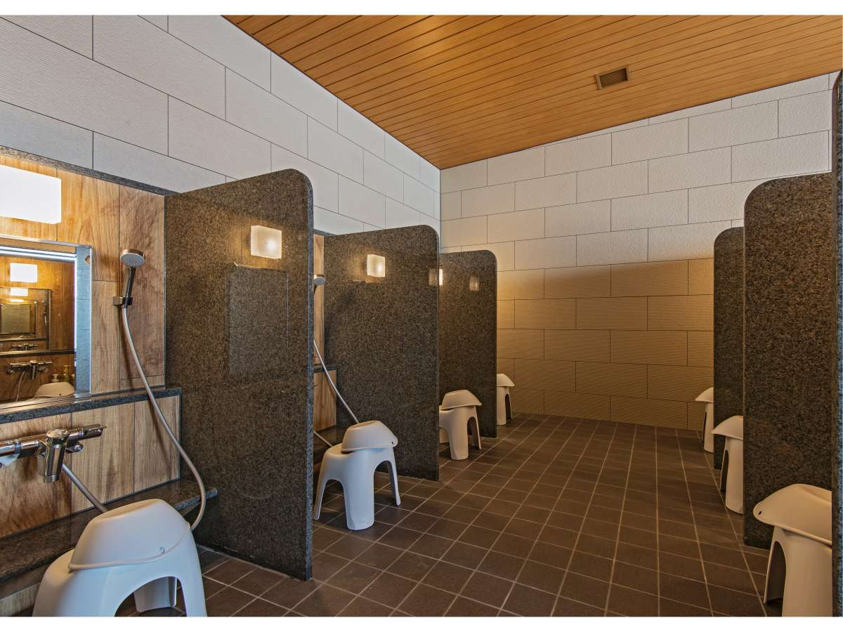 大浴場 洗い場