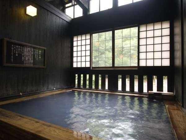 「姫肌の湯」は半露天風呂「古の湯」と続く