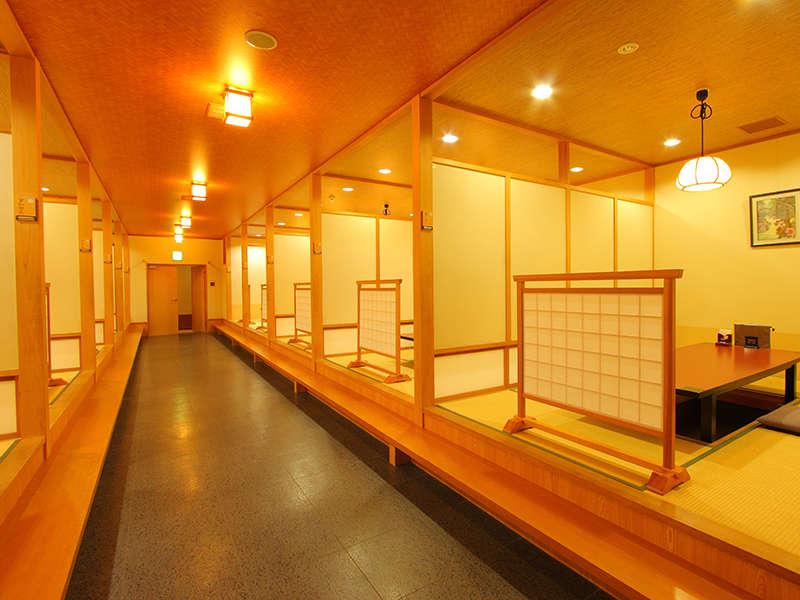 プライベート感も高い半個室の食事処 小上がり座敷 花小路