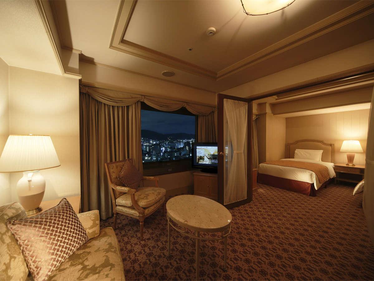 喫煙 スイートツインルーム 54~60平米16階が確約された特別フロアのお部屋です。