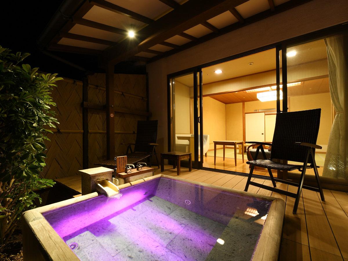 専用露天風呂付10畳和室(212・コーナースイート)