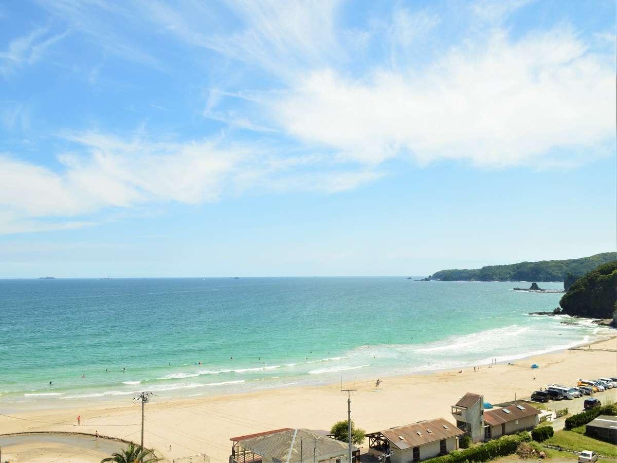綺麗な海を眺めてリラックスタイムを