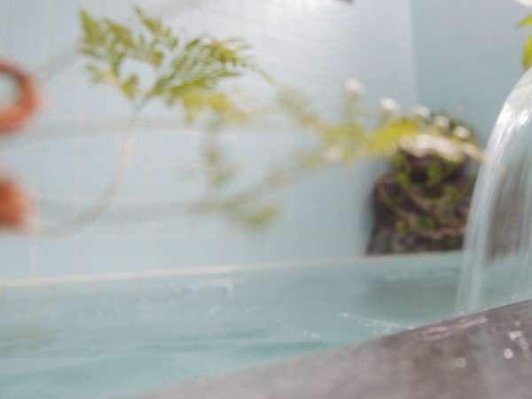 24時間入浴できる薬石風呂で体もぽっかぽっか