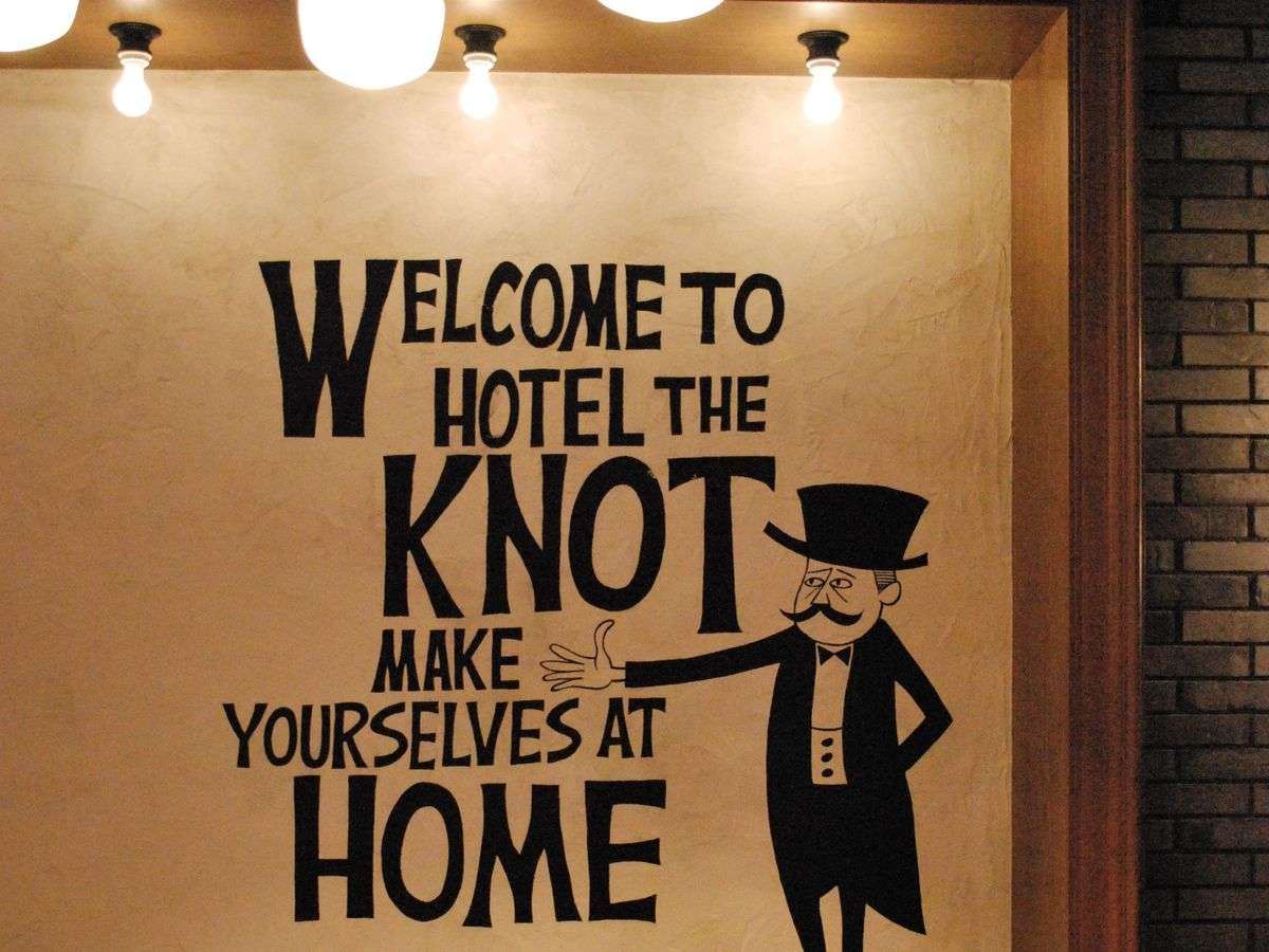 WELCOME TO HOTEL THE KNOT ~ようこそホテル・ザ・ノット ヨコハマへ
