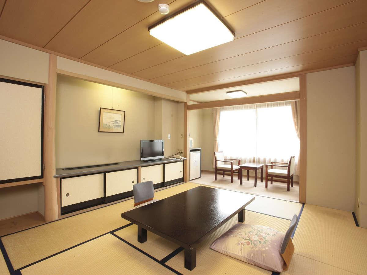 遠いお部屋になってしまう代わりにリーズナブルな西館和室の一例