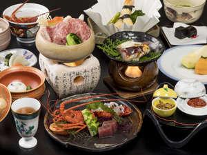 冬の「雅」のお料理一例です